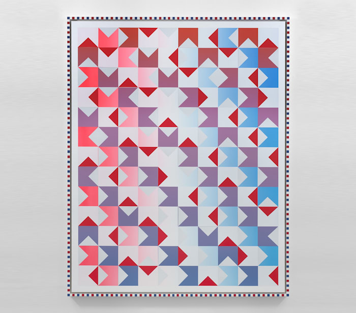 American Quilt 2018: North, South, East, West by Rob Pruitt