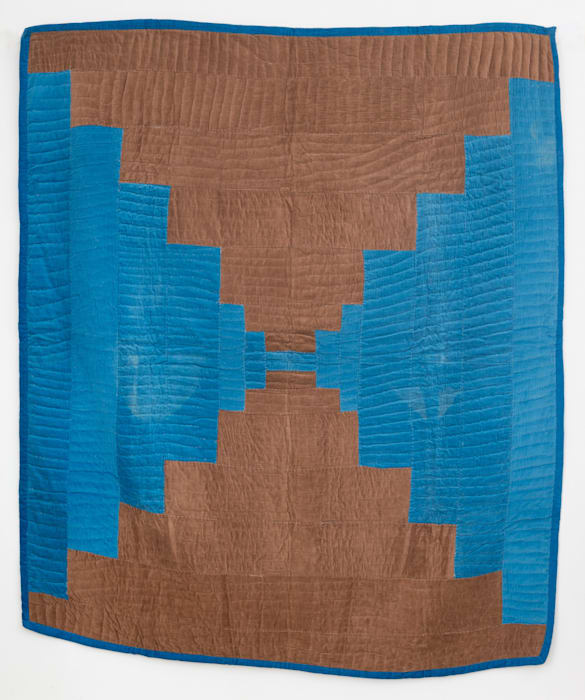 Mary L. Bennett (Gee's bend) Untitled (Bricklayer quilt) by Gee's Bend