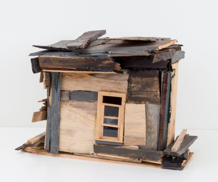 Cedar House with Poplar Base by Beverly Buchanan