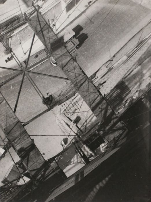View from the Pont Transbordeur by László Moholy-Nagy