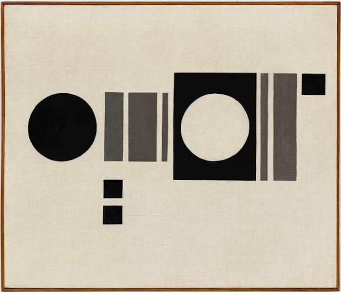 Composition 15 by Julije Knifer