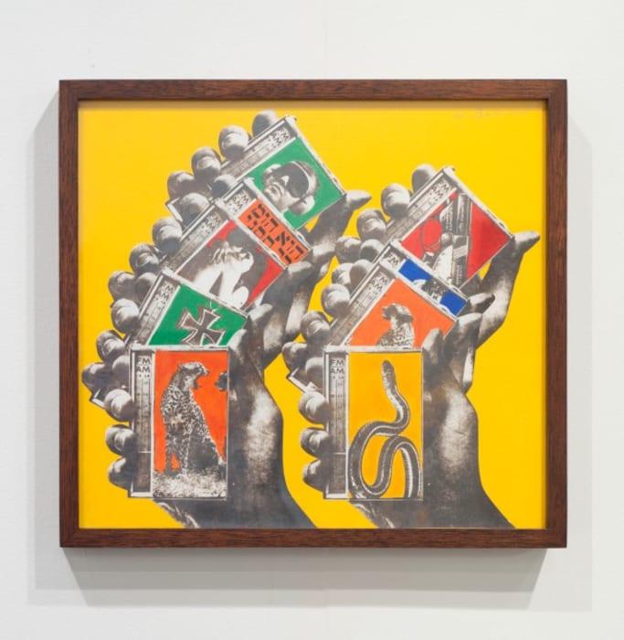 Untitled (Shuffle) by Wallace Berman
