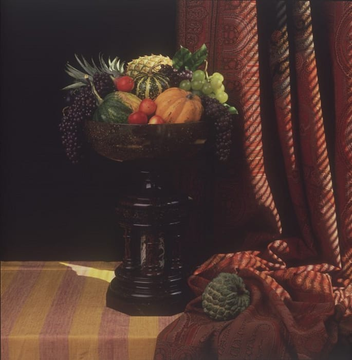 Urn With Fruit by Robert Mapplethorpe