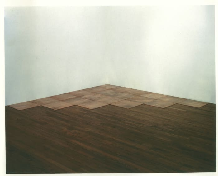 Sixth Copper Corner by Carl Andre