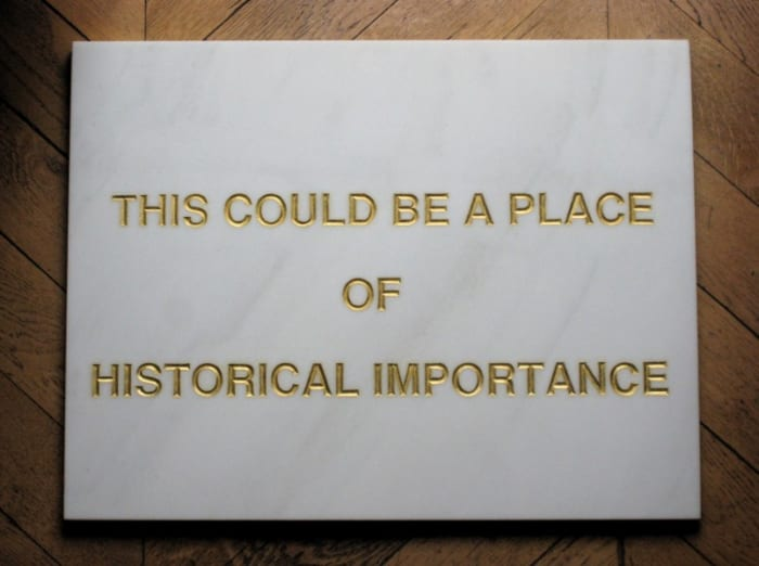 This could be a place of historical importance by BRACO DIMITRIJEVIĆ