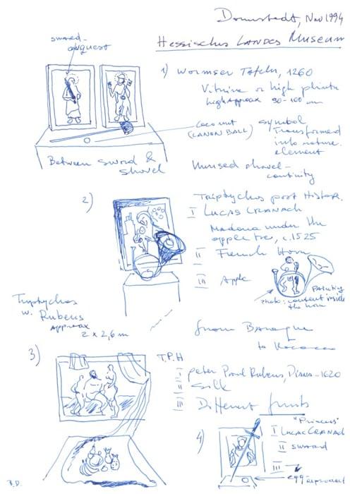 Triptychus Post Historicus. Promenades in Museums by BRACO DIMITRIJEVIĆ