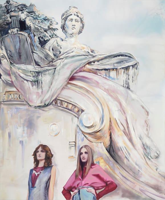 Neo-Renaissance (after Jacqueline Sobiszewski) by Paulina Olowska