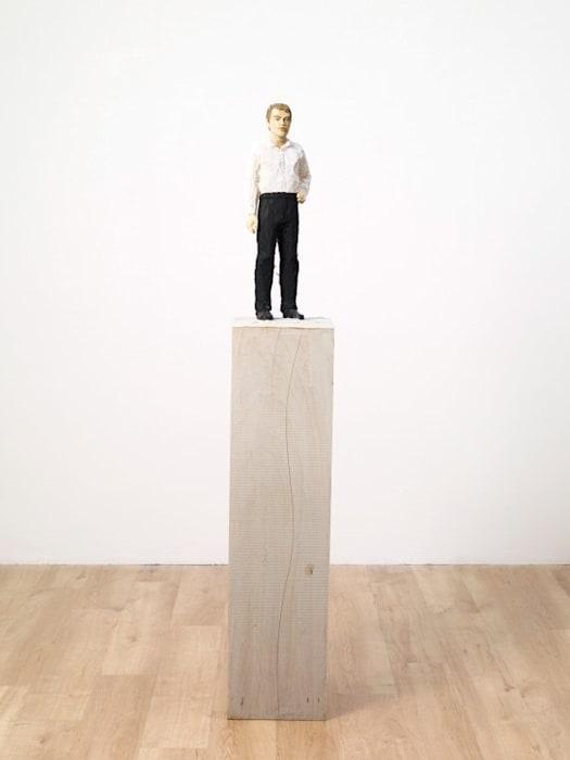 Man in Black Trousers by Stephan Balkenhol