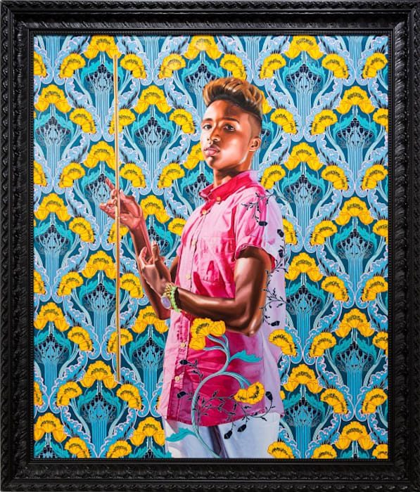 Archangel Gabriel by Kehinde Wiley