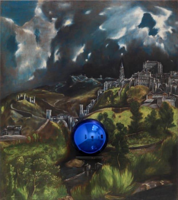 Gazing Ball (El Greco View of Toledo) by Jeff Koons