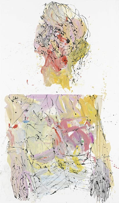 Vergangen in Manchester by Georg Baselitz