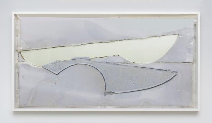 Untitled (Grey) by Nuno Ramos