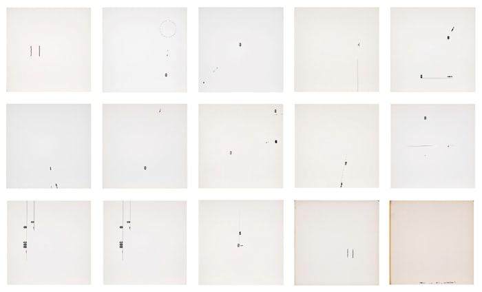 Untitled, Vectors Album by Mira Schendel