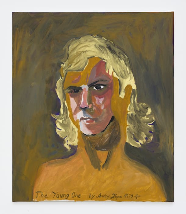 The Young One (Selfportrait with golden hair) by Andy Hope 1930