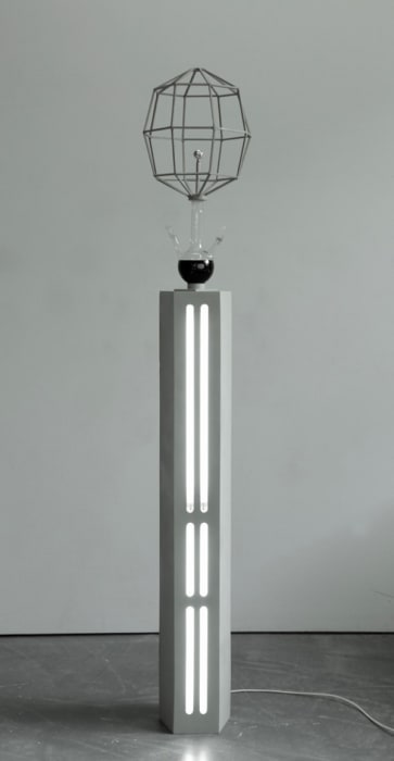 Grauer Strahler (Kristall) by Björn Dahlem