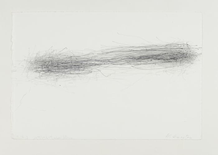 Without Title (Subway Drawing, 4.14.12, 23rd (10th to 7th) Raphael Street) by William Anastasi