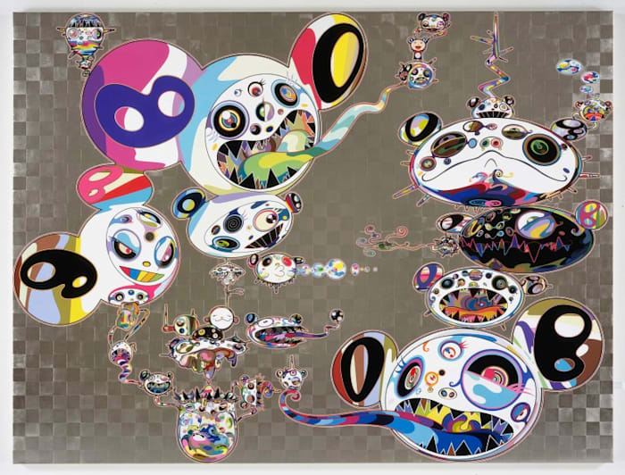 Another Dimension Brushing Against Your Hand by Takashi Murakami