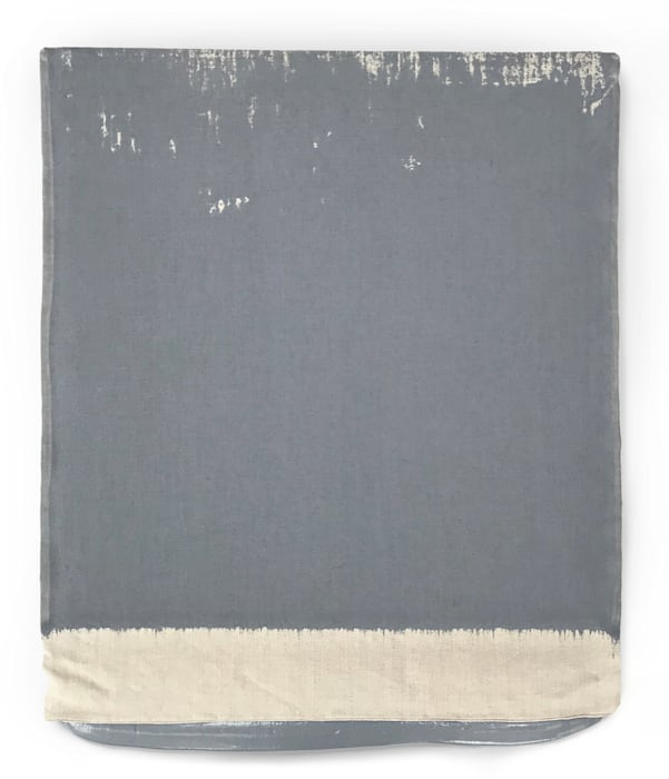 Pressed Paint (Middle Gray) by Analia Saban