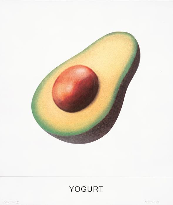 YOGURT by John Baldessari