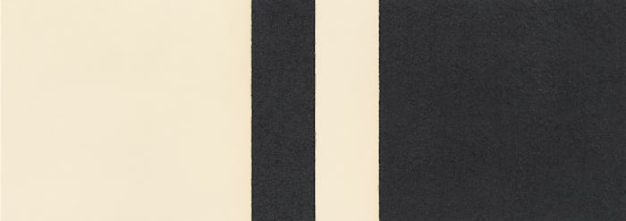 Horizontal Reversal IX by Richard Serra