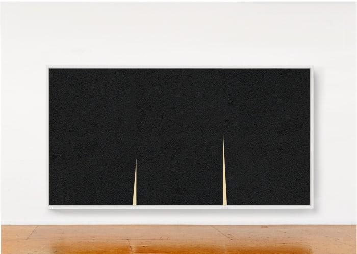 Double Rift III by Richard Serra