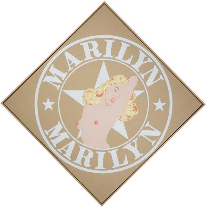 Marilyn Marilyn II by Robert Indiana