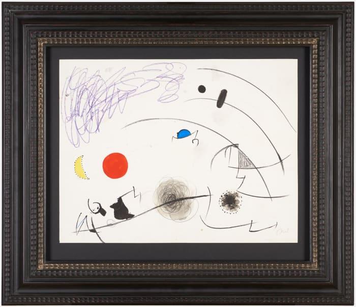 Sans titre by Joan Miró