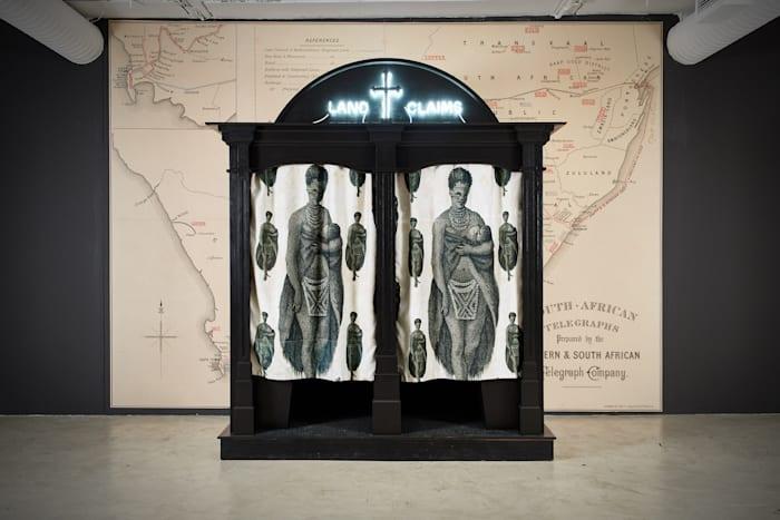 Land Claims Confessional by Kudzanai Chiurai