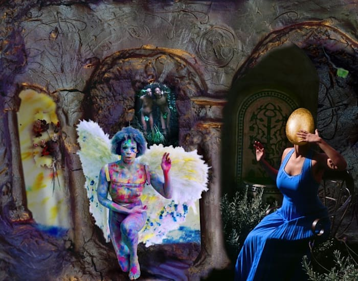 Lucie's Fur Version 1:1:1 – I' Annunciazione (After Fra Angelico) by Tracey Rose