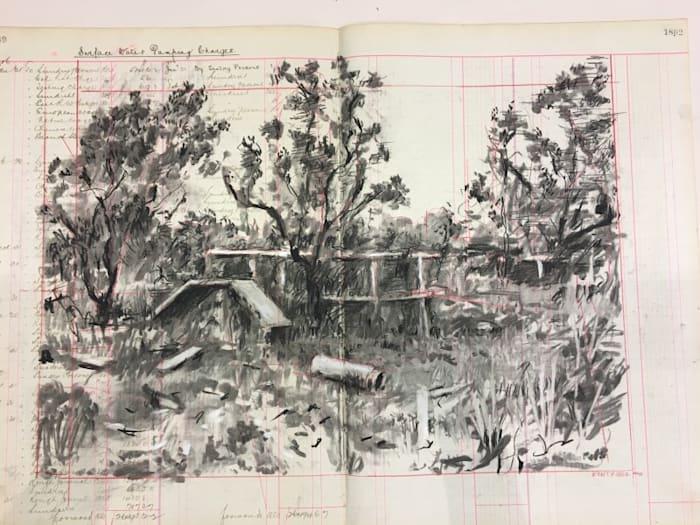 Untitled (55) by William Kentridge
