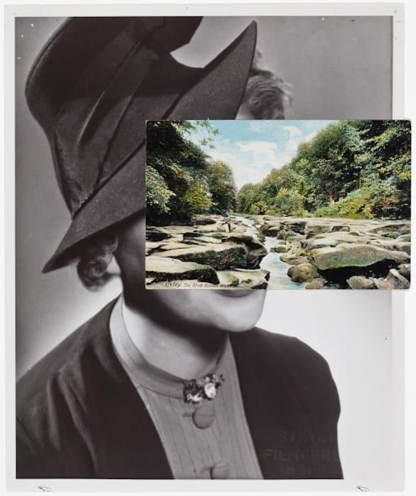 Mask (Film Portrait Collage) CLXXXI by John Stezaker