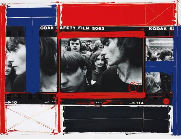Rolling Stones Concert, Paris by William Klein