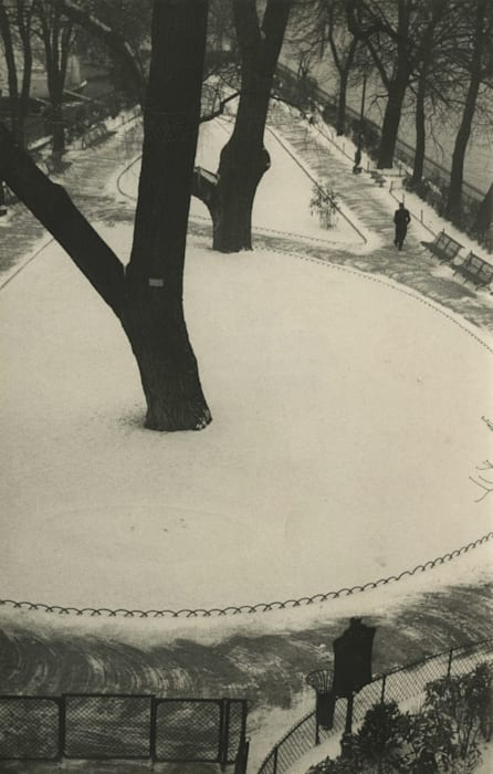 The Vert-Galant in Winter by André Kertész