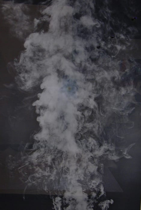 From the Series 'My Ghost' (Smoke) by Adam Fuss