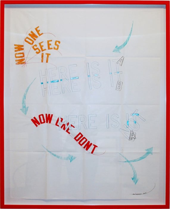 """""""Untitled"""" by Lawrence Weiner"""