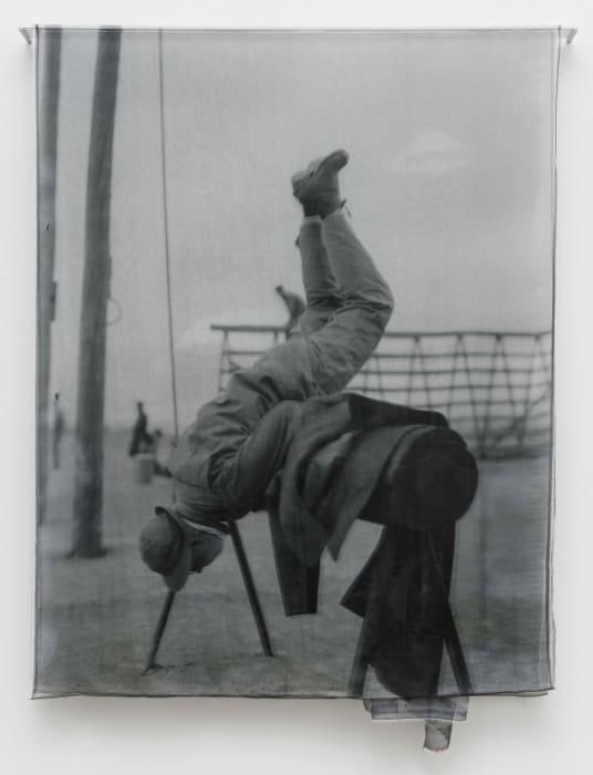 """Insólidos series - Untitled (acrobacia)"" by Rosângela Rennó"