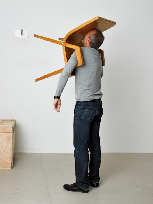 """Idiot III"" by Erwin Wurm"