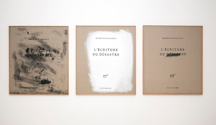 L'Écriture du Désastre by João Louro