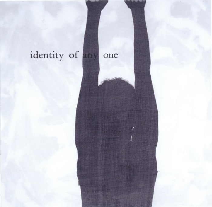 """""""Inadequate Readings (identity of any one)"""" by Julião Sarmento"""