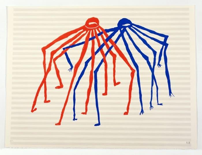 Jitterbug by Louise Bourgeois