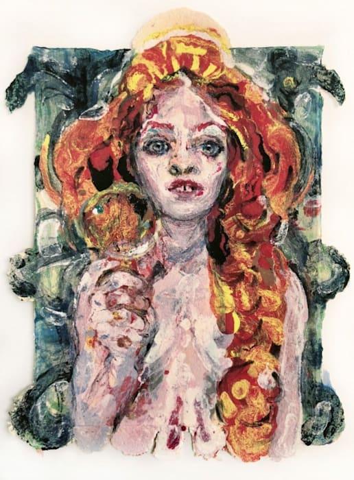 Woman II by Natalie Frank