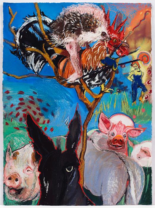 Hans My Hedgehog II (Grimm's Fairy Tales) by Natalie Frank