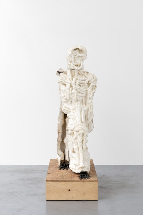 Yet to be titled (Walking Figure I) by Thomas Houseago
