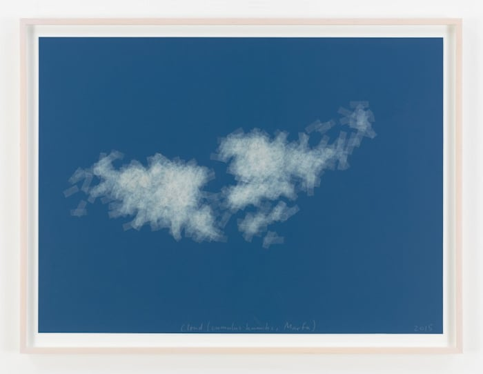 Cloud (cumulus humilis, Marfa) by Spencer Finch