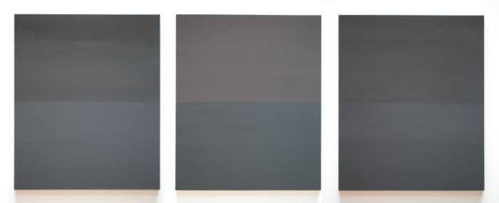 Dark Horizon by Byron Kim