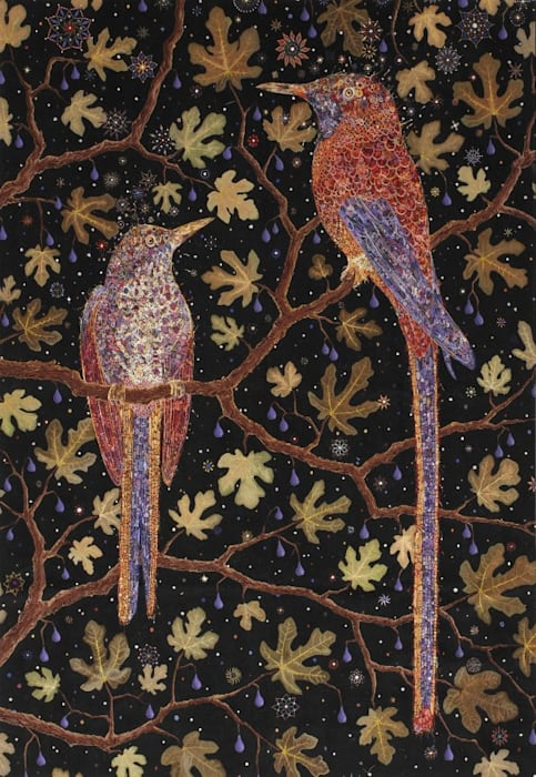 After Migrant Fruit Thugs by Fred Tomaselli