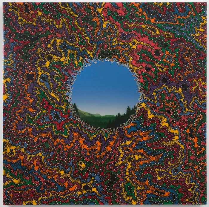 Double Landscape (Large) by Fred Tomaselli