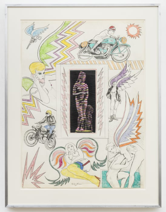 Untitled [Venus with lightning bolts] by Robert Smithson
