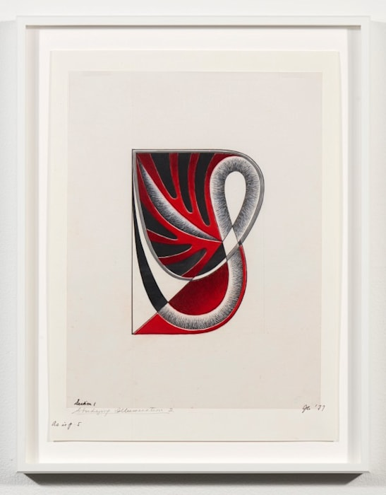 Study for Letter S #3 by Judy Chicago