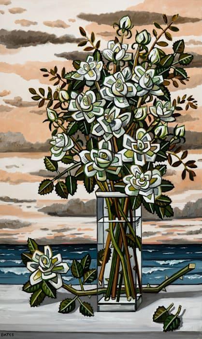 Fall Roses by David Bates